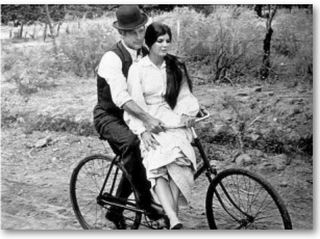 自転車二人乗り
